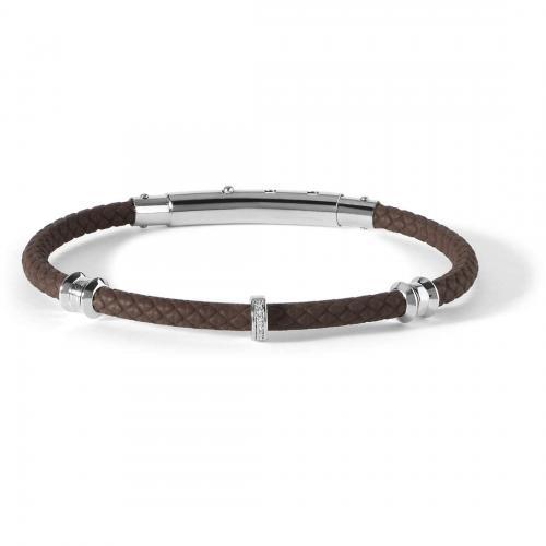 bracciale in argento da uomo comete gioielli - collezione business ubr 743