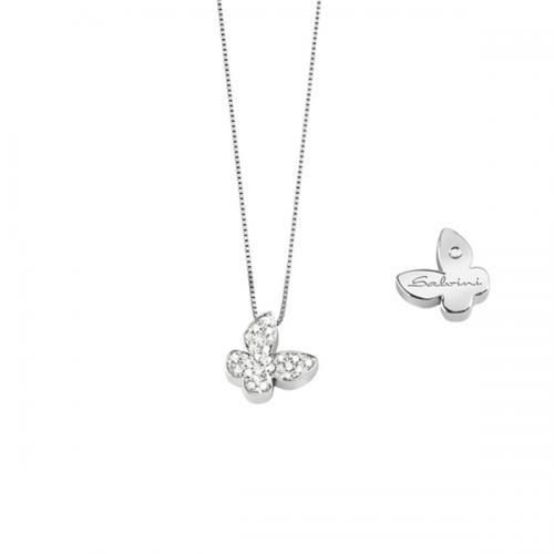 Collier Salvini Farfalla collezione I SEGNI - collana Salvini con diamanti