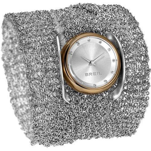 orologio breil infinity ext. tw1239 acciaio rose' collana bracciale