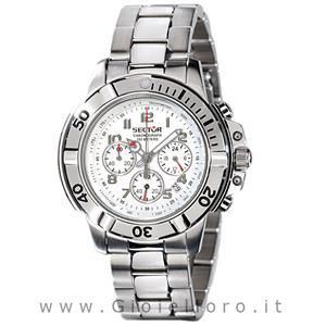 sector orologio sector 240 chrono bianco r3273640025