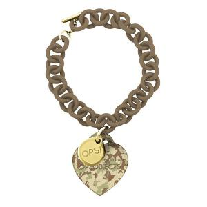 BRACCIALE CON PENDENTE OPS! CAMOUFLAGE - gallery