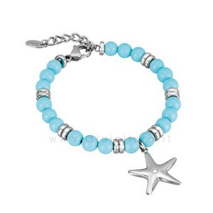 Bracciale 2Jewels Donna SEASIDE in acciaio e cristalli 231466 - gallery