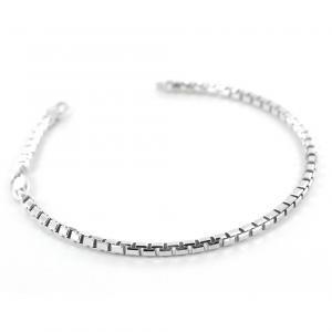 Bracciale Zancan da uomo in argento lucido EXB754-L - gallery