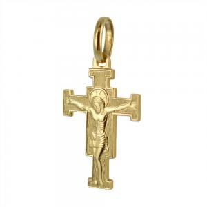 Ciondolo Croce del Cimabue in oro giallo con collana - gallery