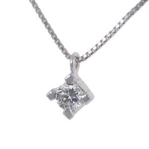 Collana Punto Luce in oro bianco e diamante ct 0.15 G collezione Marilyn - gallery