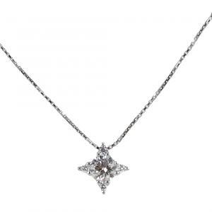 Collana con Punto Luce diamante ct. 0.23 F VS effetto stella Gioielli Valenza - gallery