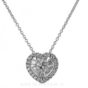 Collana con pendente CUORE Gioielli Valenza - magic heart collection - gallery