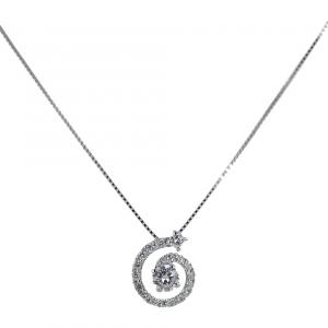 Collana con pendente Salvini spirale di diamanti 20071390 - gallery