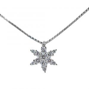 Collana con pendente Stella in oro e diamanti ct. 0.22 Gioielli Valenza - gallery