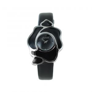 OROLOGIO DONNA LOWELL ROSE BLACK - gallery