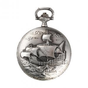 Orologio da tasca Perseo 17102/C movimento meccanico manuale - gallery