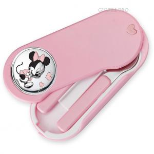 SET PAPPA CON INSERTO IN ARGENTO MINIE MOUSE - gallery