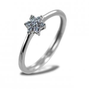 Anello Stella di Diamanti collezione Yamir stella piccola - gallery