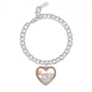 Bracciale 2Jewels donna Daylight in acciaio con pendente Mamma 232015 - gallery