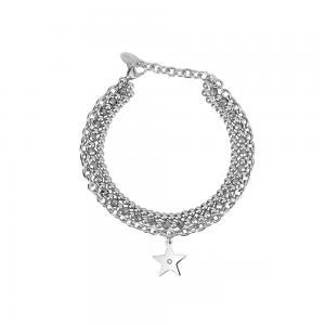 Bracciale Donna 2Jewels in Acciaio e cristalli Stella collezione Starlook 232121 - gallery