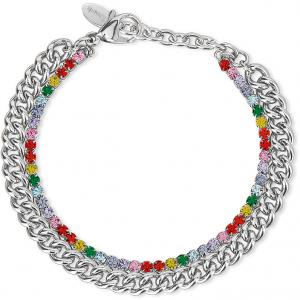 Bracciale Donna 2Jewels Raimbow Mix Match 232142 tennis arcobaleno - gallery