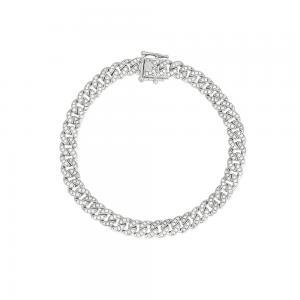 Bracciale Donna Mabina in Argento e zirconi bianchi 533334-M - gallery