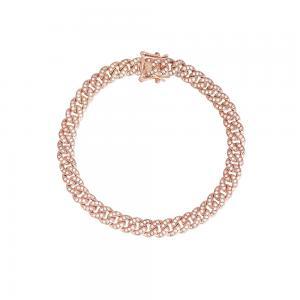 Bracciale Donna Mabina in Argento rosato e zirconi bianchi 533333-M - gallery