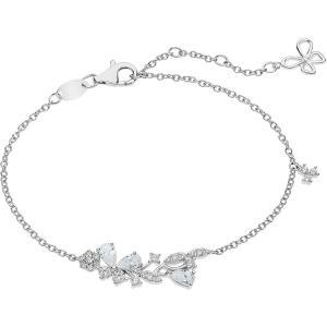 Bracciale in argento Comete Gioielli con zirconi BRA 166 - gallery