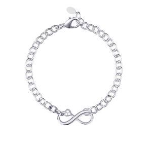 Bracciale Mabina in argento con simbolo infinito 533238 - gallery