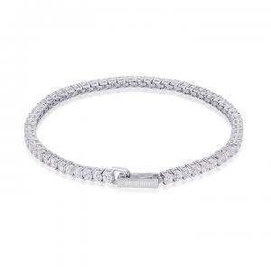Bracciale tennis donna Mabina in argento con zirconi 533220 - gallery