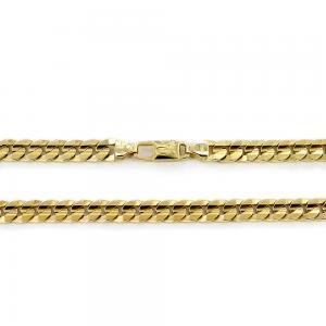 Catena da Uomo Groumette in oro giallo 18 kt - 50 cm 57 grammi - gallery