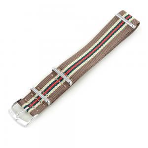 Cinturino NATO STRAPS marrone rosso e verde ansa 20 mm - gallery