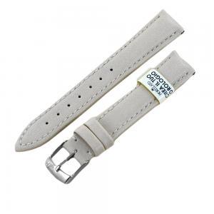 Cinturino ricambio orologio da donna Beige Eco Pelle 16 mm - gallery