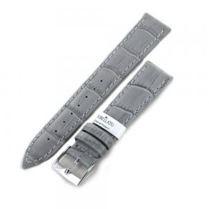 Cinturino stampa Alligatore grigio ansa 18 mm - gallery
