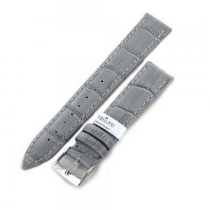 Cinturino stampa Alligatore grigio ansa 22 mm - gallery