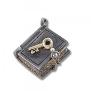 Ciondolo in argento e oro Pulci - Diario dei segreti - gallery
