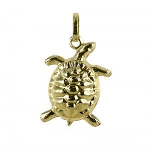 Ciondolo Tartaruga in oro giallo - gallery