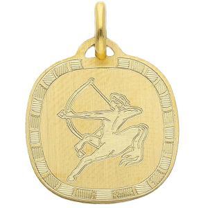 Ciondolo Zodiaco in oro giallo - SEGNO SAGITTARIO - gallery