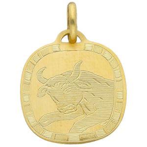 Ciondolo Zodiaco in oro giallo - SEGNO TORO - gallery