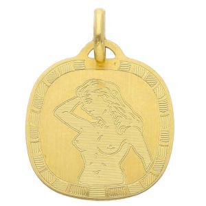Ciondolo Zodiaco in oro giallo - SEGNO VERGINE  - gallery