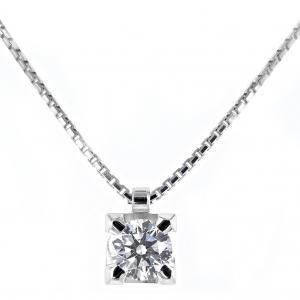 Collana Punto Luce diamante ct 0.56 G Gioielli Valenza - gallery