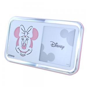 Cornice da bambina 1 foto Minnie Mouse 10 x 10 cm - gallery
