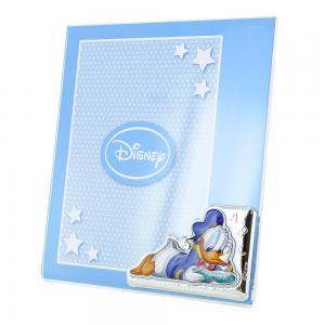 Cornice da bambino a giorno Donald Duck Paperino 15x20 cm plexiglass - gallery