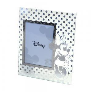 Cornice da bambina in vetro Minnie Mouse - gallery