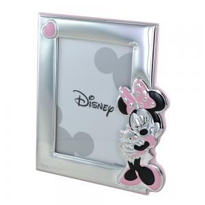 Cornice da bambina Minnie Mouse Orsetto Peluche 13X18 cm - gallery