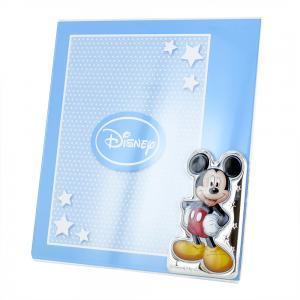 Cornice da bambino a giorno Mickey Mouse Topolino 15x20 cm plexiglass - gallery