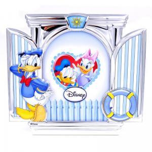Cornice portafoto da bambino Paperino 13X18 cm Donald Duck - gallery