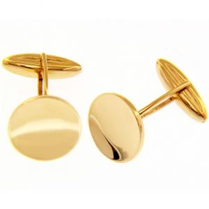 Set Apollo fermacravatta e gemelli dorato con strass accessori moda uomo bigiotteria