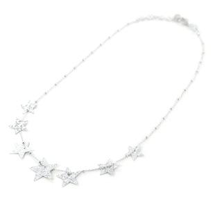 Girocollo con stelle in argento collezione Shiny - gallery