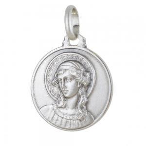 Medaglia san Gabriele Arcangelo in argento 16 mm - gallery
