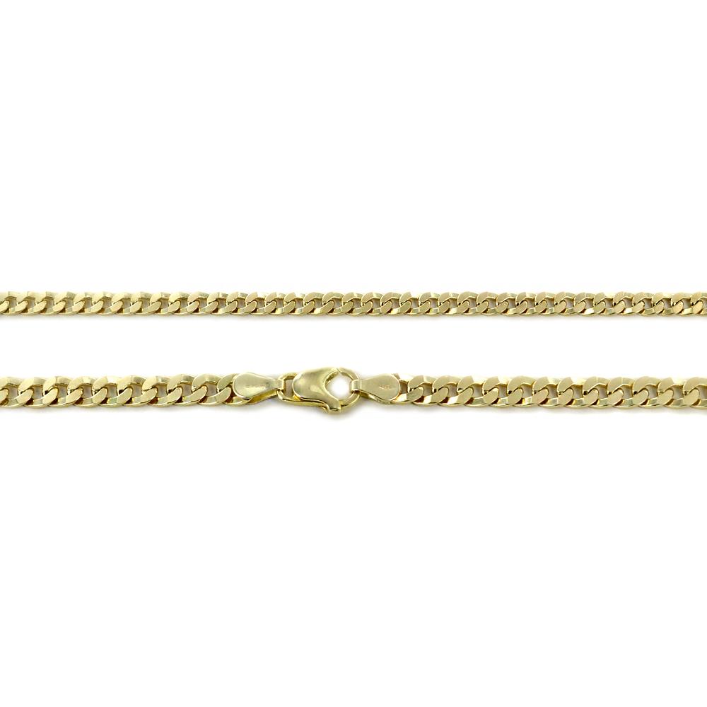 Catena da Uomo Groumette in oro giallo 18 kt - 60 cm  - gallery