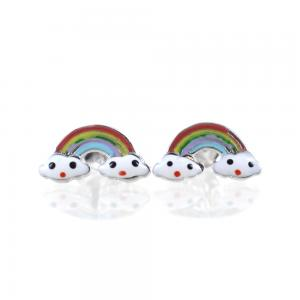 Orecchini con Arcobaleno - orecchini Rainbow - gallery