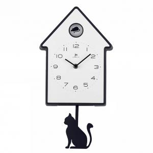 Orologio a pendolo da bambino con gatto - gallery