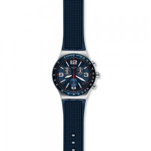 Orologio da Uomo Swatch Blue Grid YVS454 - gallery