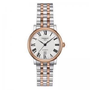 Orologio Tissot donna Carson Automatico Lady acciaio rose T122.207.22.033.00 - gallery
